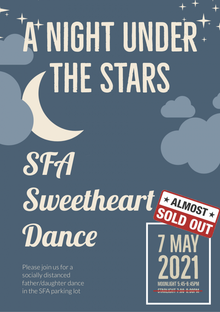 Sweetheart Dance - almost sold out
